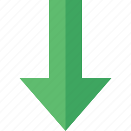 arrow, direction, down, download, upload icon