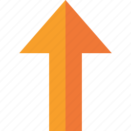 arrow, direction, download, navigation, up, upload, yellow icon