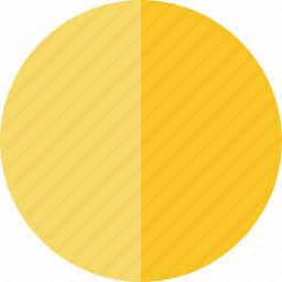 marker, pin, point, yellow icon