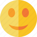 emoticon, emotion, face, smile icon