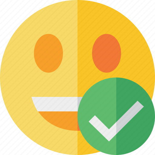 emoticon, emotion, face, laugh, ok, smile icon