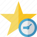 achievement, bookmark, clock, favorite, rating, star