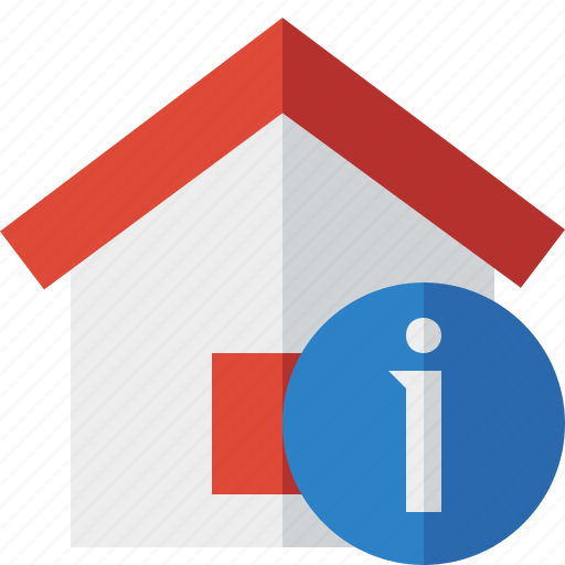 address, building, home, house, information icon