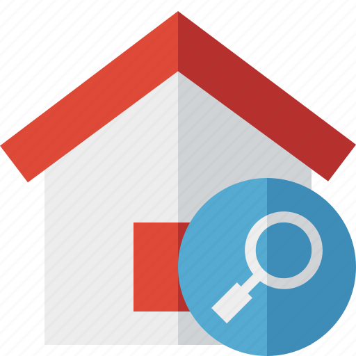 Address, building, home, house, search icon - Download on Iconfinder