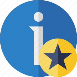 about, data, details, help, information, star icon