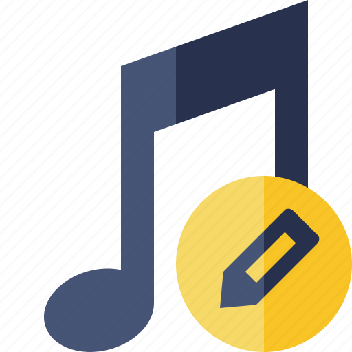 Audio, edit, multimedia, music, note, sound icon - Download on Iconfinder