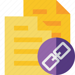 copy, documents, duplicate, files, link icon