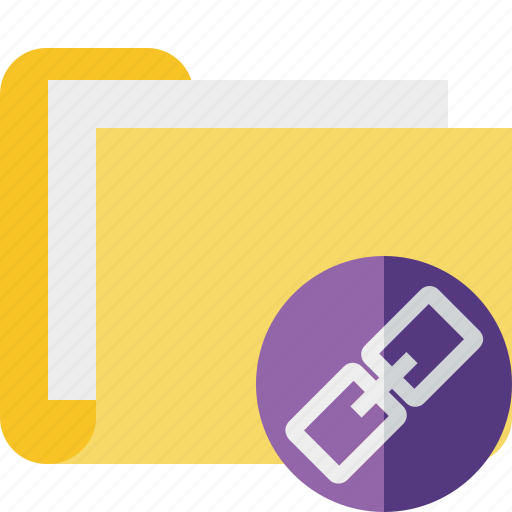 category, documents, file, folder, link icon