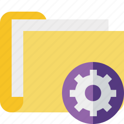category, documents, file, folder, settings icon