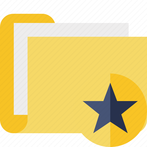 category, documents, file, folder, star icon