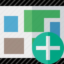 add, location, map, navigation, travel icon