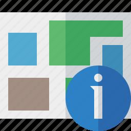 information, location, map, navigation, travel icon