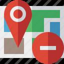 gps, location, map, marker, navigation, pin, stop
