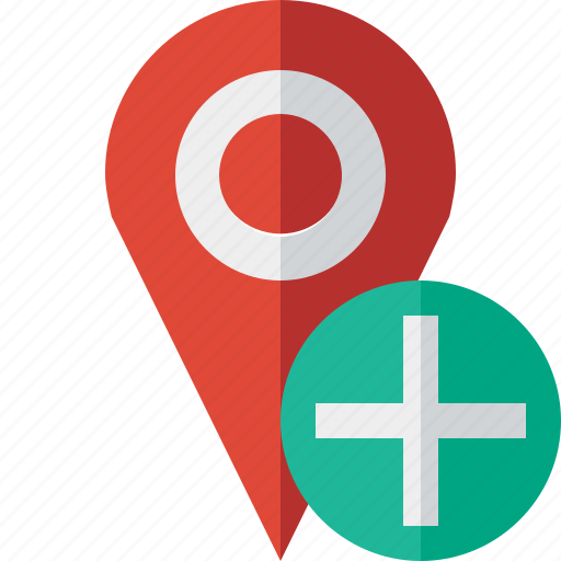 add, gps, location, map, marker, navigation, pin icon