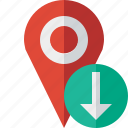 download, gps, location, map, marker, navigation, pin
