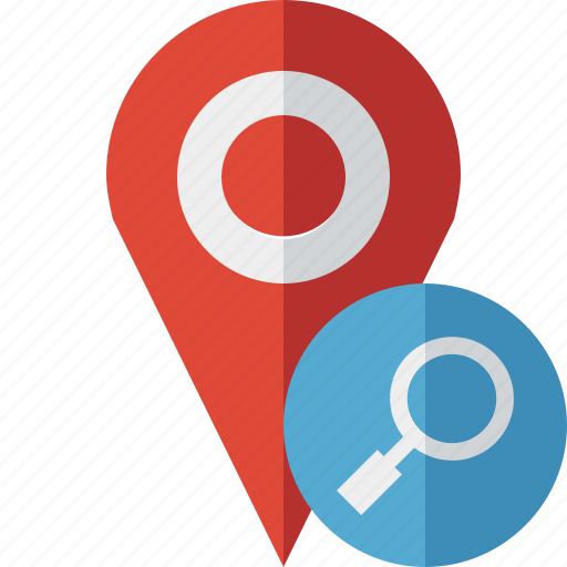 gps, location, map, marker, navigation, pin, search icon