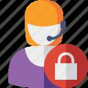 help, lock, service, support