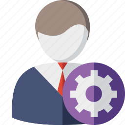 account, business, client, office, settings, user icon