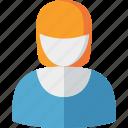 account, female, profile, user, woman