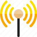 broadcast, radio, signal icon