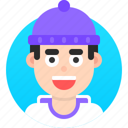 avatar, emoji, face, head, man, people, profile icon