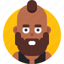 african american, avatar, emoji, face, head, profile, user icon