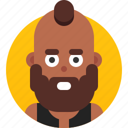 african american, avatar, emoji, face, head, profile, user icon