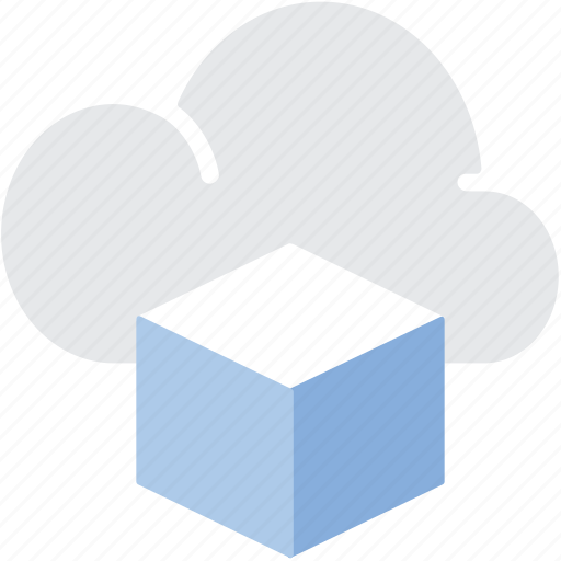 big data, cloud, server, storage icon