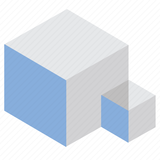 big, cube, data, recycling, refresh icon