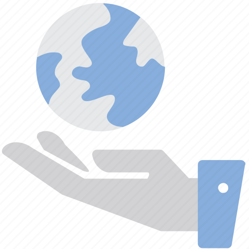 Global, hand, network, shared, web icon - Download on Iconfinder