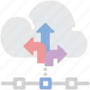 backup, big data, cloud, time machine icon