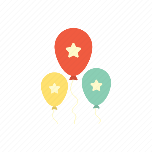 anniversary, balloon, birthday, celebration, decoration, happy, party icon