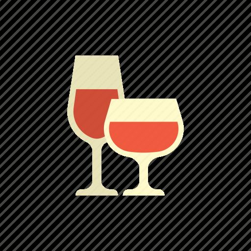 beverage, birthday, celebration, drink, glass, party, wine icon