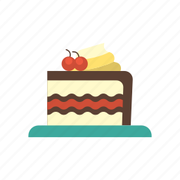 birthday, cake, celebration, food, party, snack, tart icon