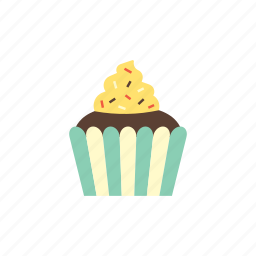 birthday, cake, celebration, cup cake, food, muffin, party icon