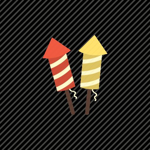 birthday, celebration, explosion, firecracker, firework, party, skyrocket icon