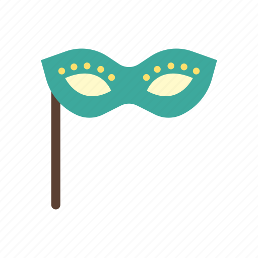 birthday, celebration, decoration, event, mask, party, secret icon