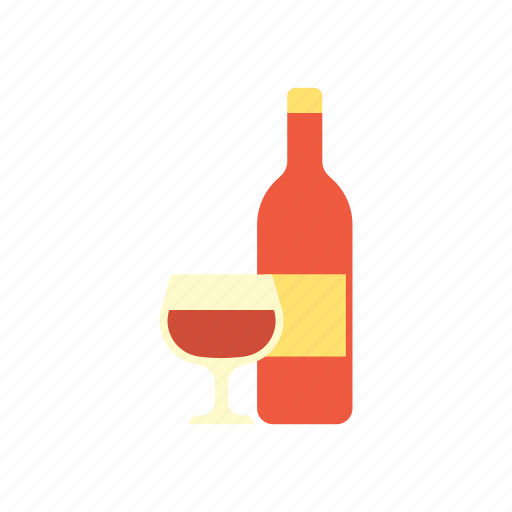 beverage, birthday, celebration, drink, food, party, wine icon