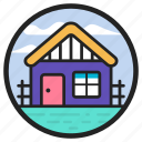 chalet, cottage, countryside, house, lodge, shelter