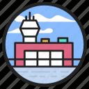 aerodrome, airfield, airport, aviation field, flying field, helipad