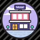 cottage, hotel, house, inn, motel