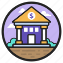 bank, building, depository house, financial institute, real estate