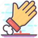 evil hand, ghost hand, scary hand, witch hand, zombie hand icon