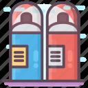 color bottle, hand spray, paint spray, spray bottle, spray can icon