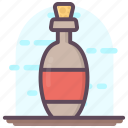 alcohol, beer bottle, wine, wine flask, wine glass icon