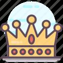 decorative crown, emperor crown, headgear, headwear, royal crown icon
