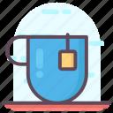 coffee cup, hot coffee, hot tea, tea, teacup icon