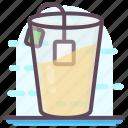 coffee cup, iced coffee, iced tea, tea, teacup icon