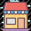 departmental store, market, outlet, shop, supermarket icon