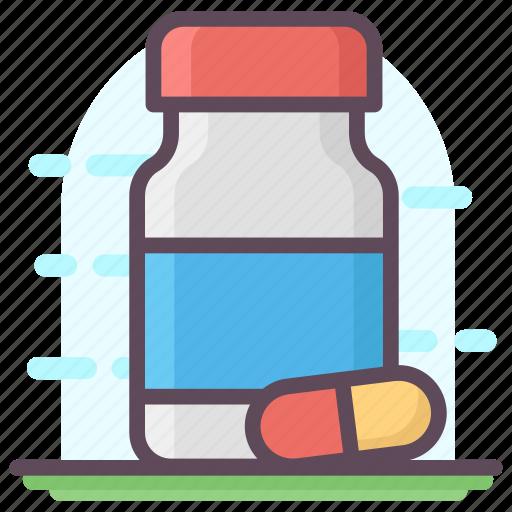 drugs, medicine bottle, medicine jar, pills, pills jar icon